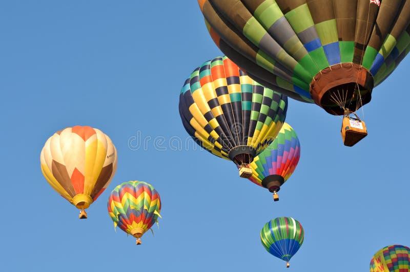 Raza 2011 del globo del aire caliente de Reno imagenes de archivo