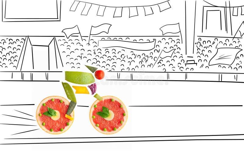 Raza con sabor a fruta. foto de archivo