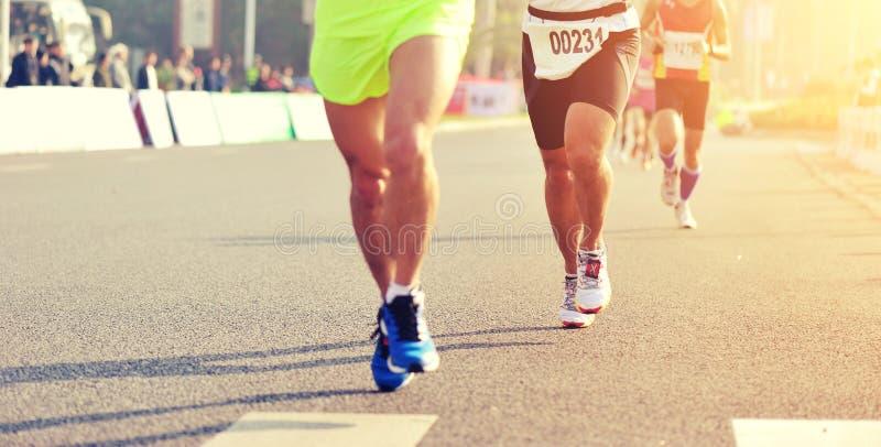 Raza corriente del maratón imagen de archivo libre de regalías