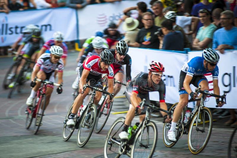 Raza de ciclo de Gastown Grand Prix 2013 foto de archivo