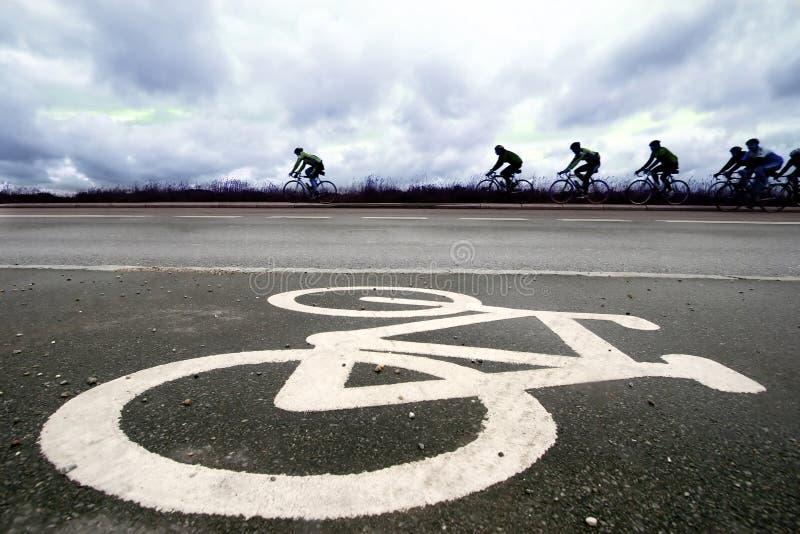 Raza de la bici fotos de archivo libres de regalías