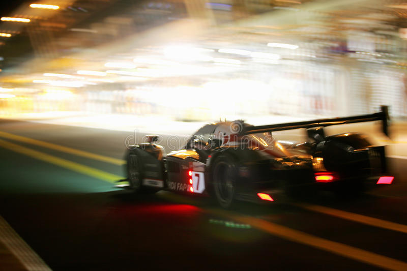 Raza de Le Mans 24H imágenes de archivo libres de regalías