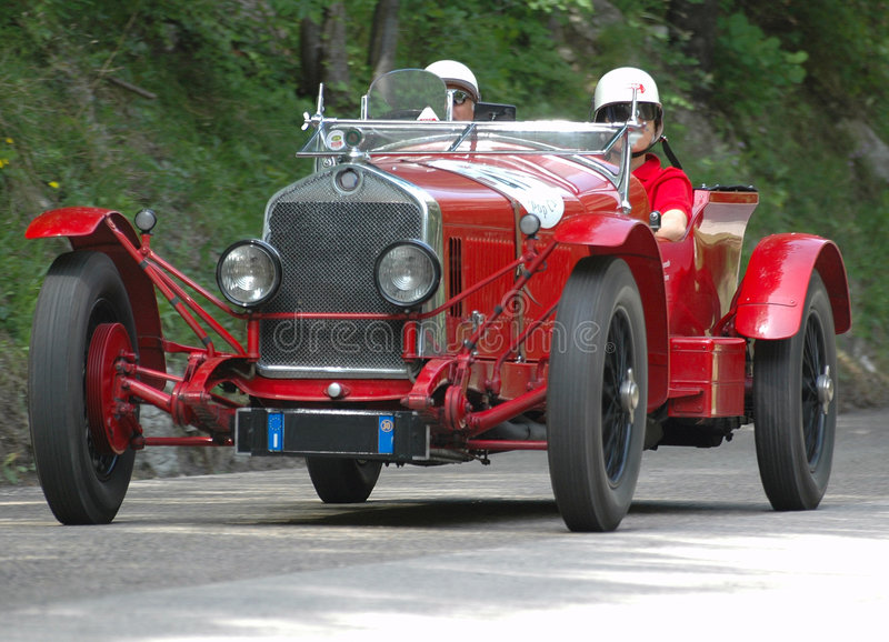 Raza de Mille Miglia (*) imagen de archivo libre de regalías