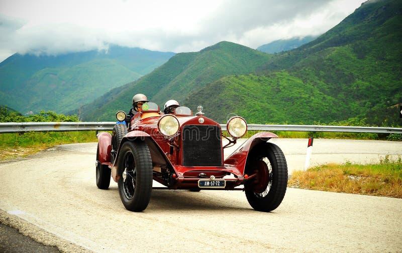 Raza de Mille Miglia 2010 fotografía de archivo libre de regalías