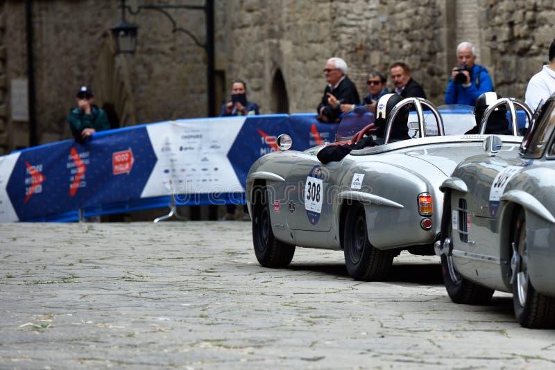 Raza histórica del miglia de Mille, Italia III fotografía de archivo