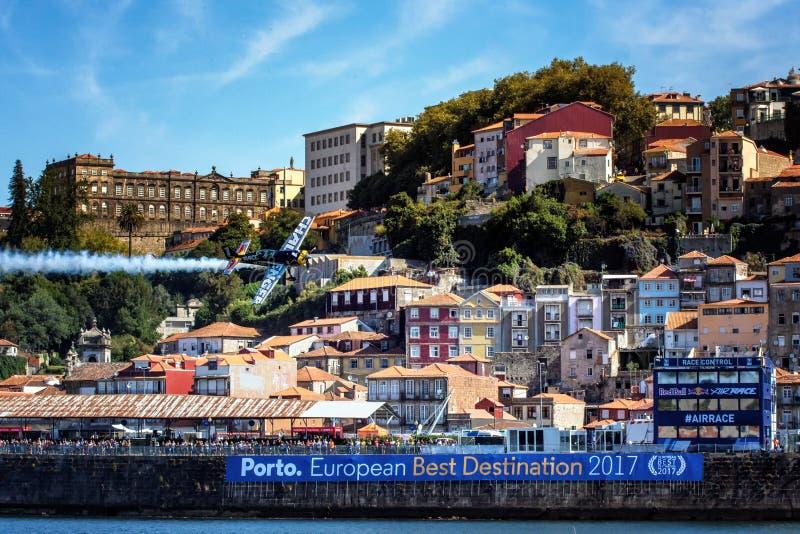 Raza Oporto 2017 del aire de Redbull imagen de archivo