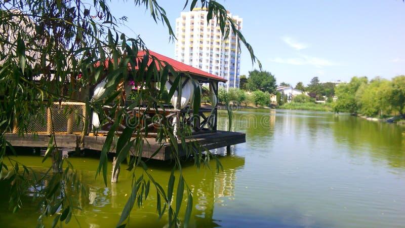 Razelm Lake royalty free stock photography