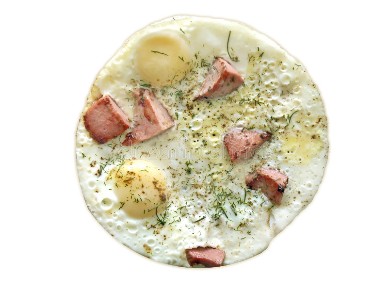 razem obiad omlet zdjęcia stock