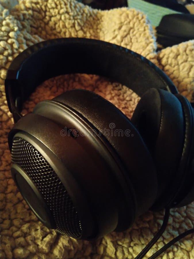 Razer Kraken - Gaming Headset 001. Gaming headset  razer kraken  gamer black  nerd tech accessory peripheral   surround sound audio  synapse royalty free stock image