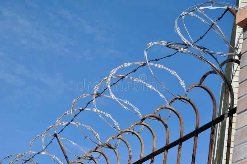 Razor Sharp Wire stock photo. Image of edges, concertina - 39896522