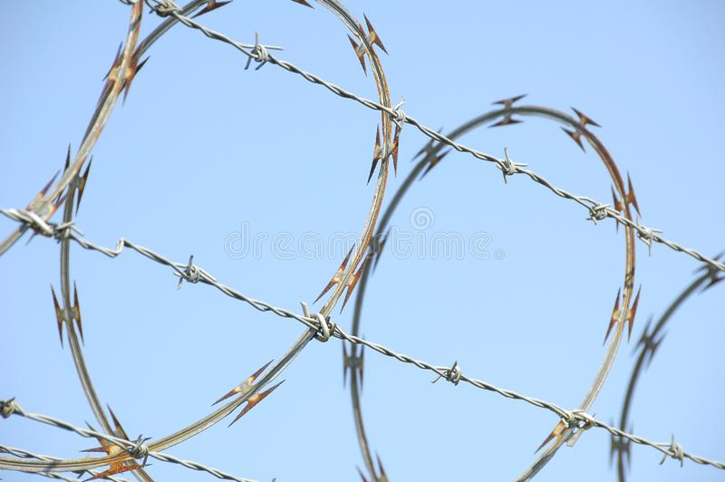 Razor Wire 1 royalty free stock images