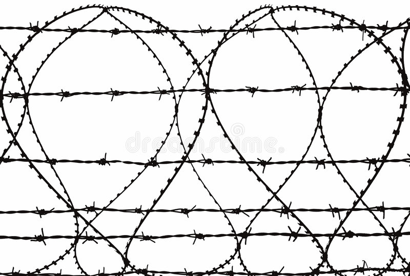 Download Razor Wire stock image. Image of restriction, prison, containment - 161293