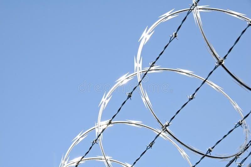 Razor Wire 3 royalty free stock photography