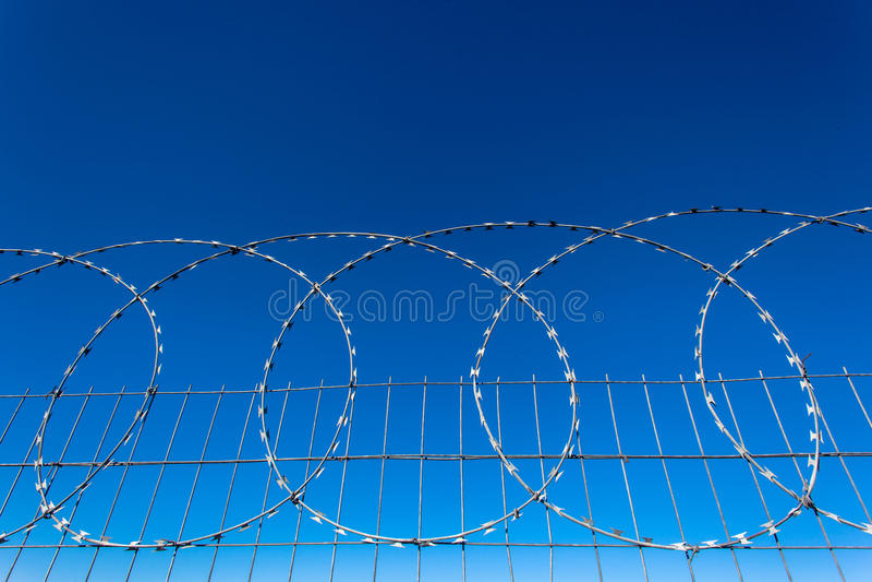 Razor Wire Steel Fence