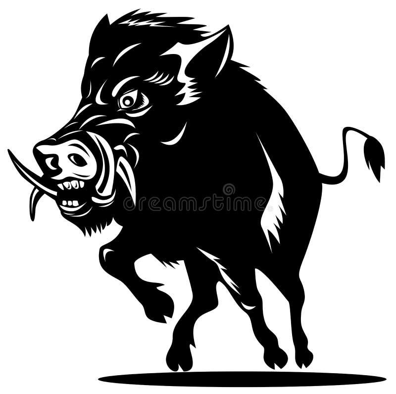 Razorback stock illustration