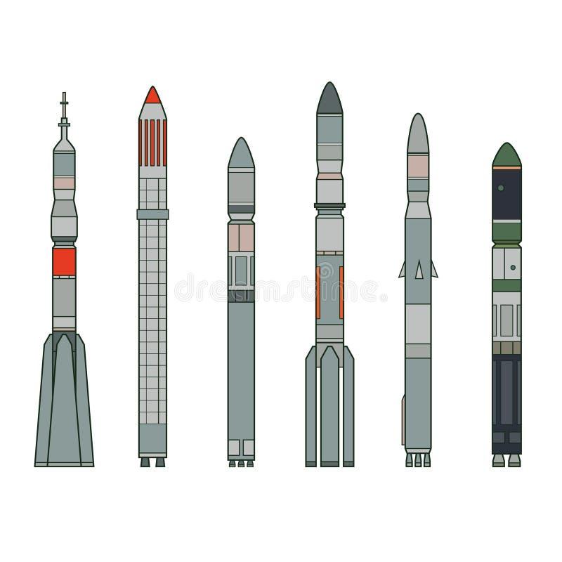 razzi illustrazione vettoriale