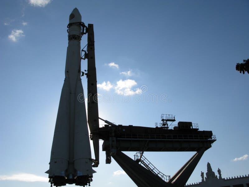 Razzo dell'astronave immagine stock libera da diritti