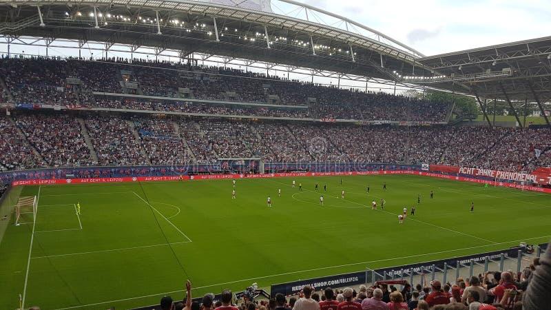 RB莱比锡Stadion 免版税库存照片