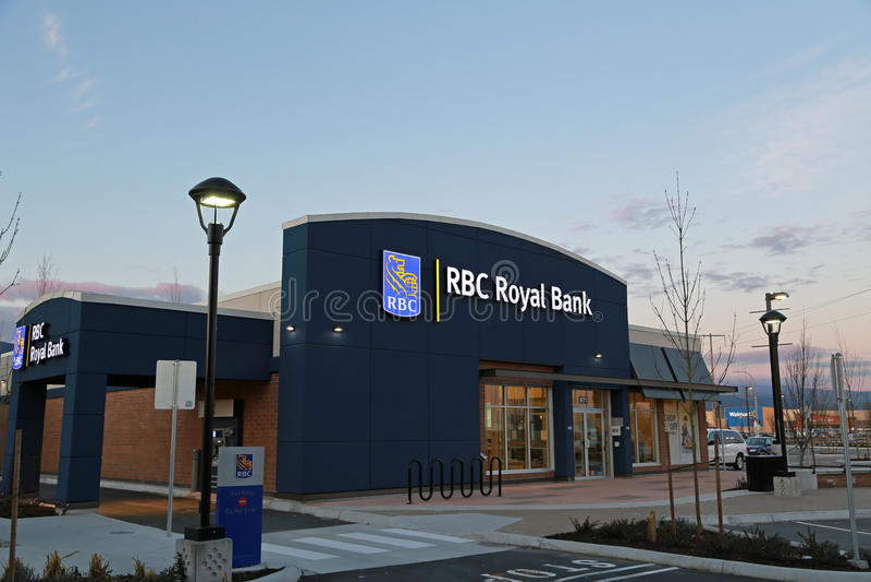 Royal Bank du Canada signent photo stock