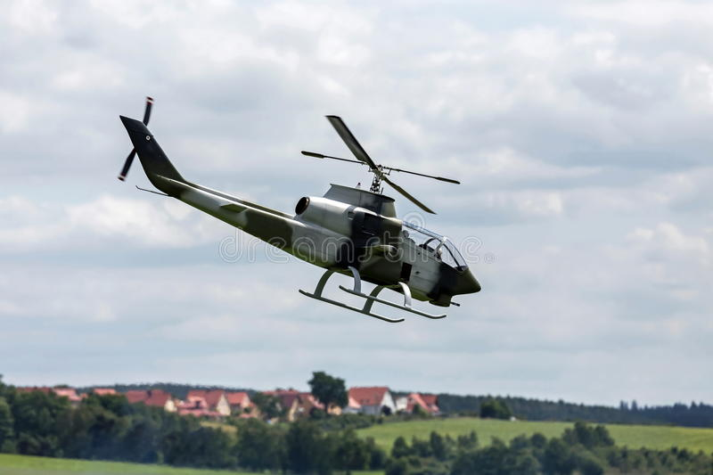 RC combat helicopter stock images