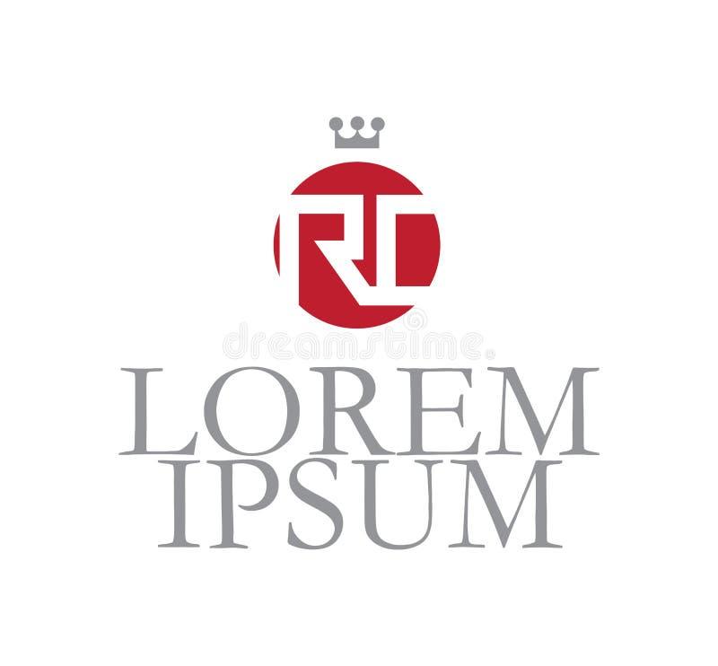 RC Logo Concept stock illustratie