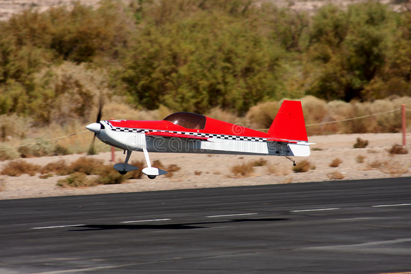 RC Luftflugzeug stockfotografie