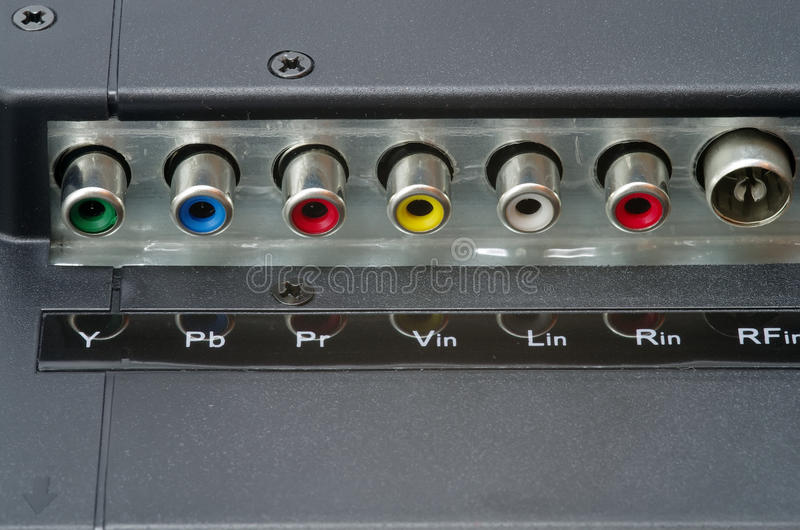 Download RCA connection stock image. Image of technology, component - 23901959