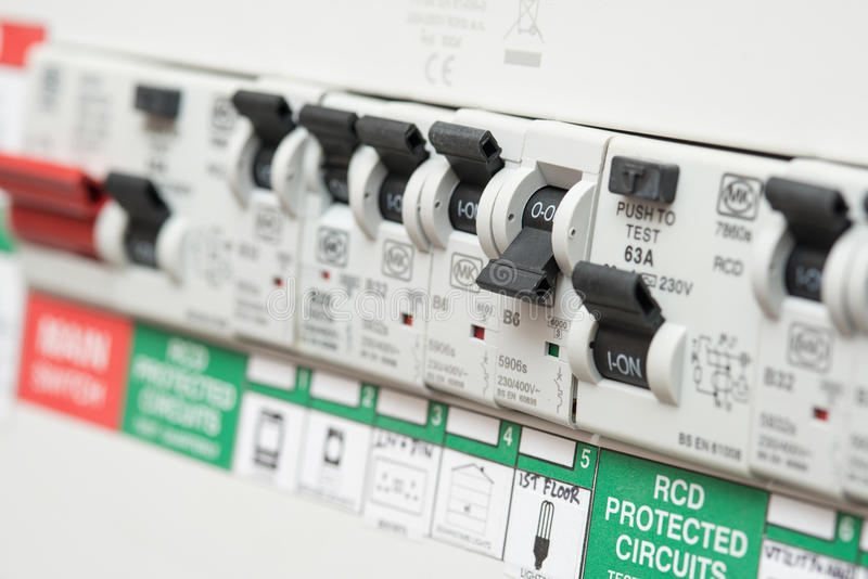 Rcd Fuse Box Price : An rcd circuit breaker switch displays off for lights