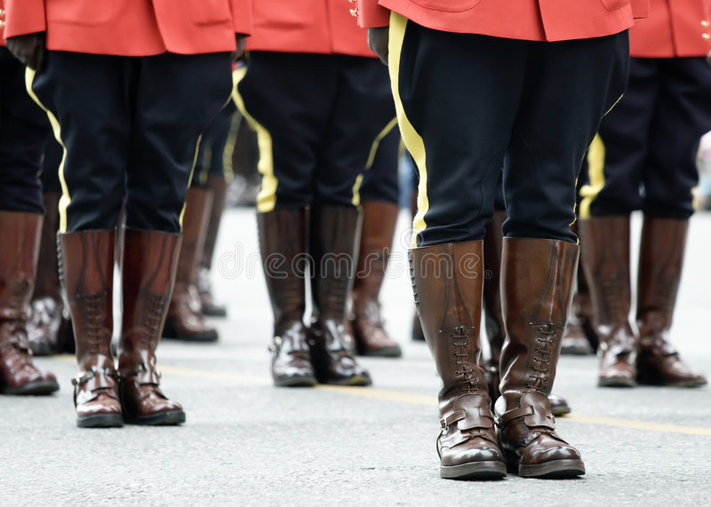 Download RCMP Parade Scene Stock Photography - Image: 5742052
