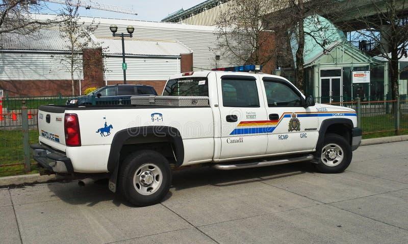 RCMP-Vrachtwagen royalty-vrije stock foto's