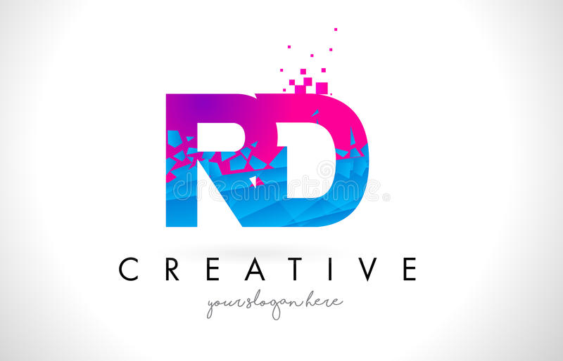 Rd r d letter logo with shattered broken blue pink texture desig download rd r d letter logo with shattered broken blue pink texture desig stock vector illustration thecheapjerseys Gallery