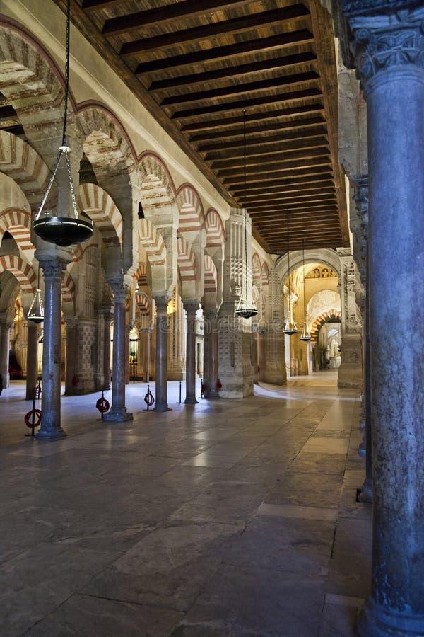 Rdoba de ³ de la Mezquita-Catedral de CÃ, rdoba de ³ de CÃ, Andalousie, Espagne photo stock