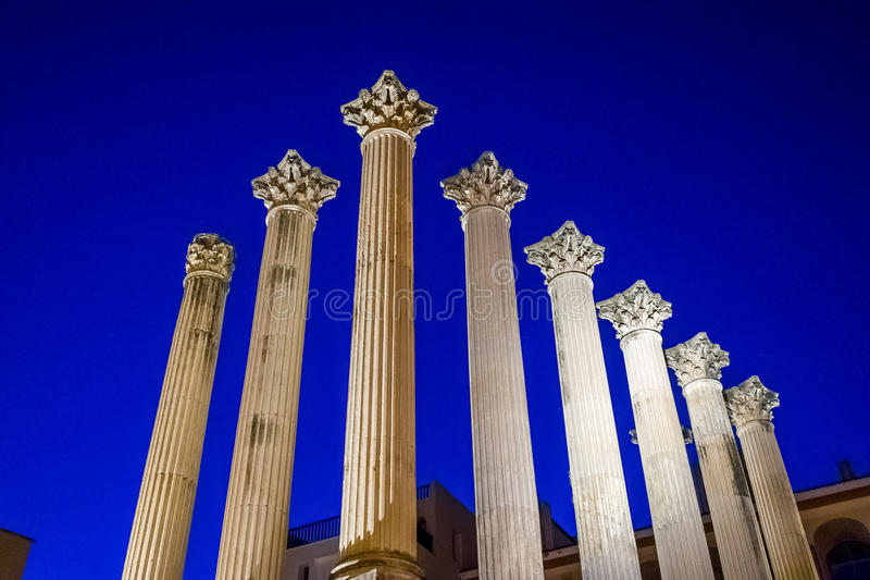 Rdoba do ³ de CÃ - colunas do Romano-estilo foto de stock royalty free