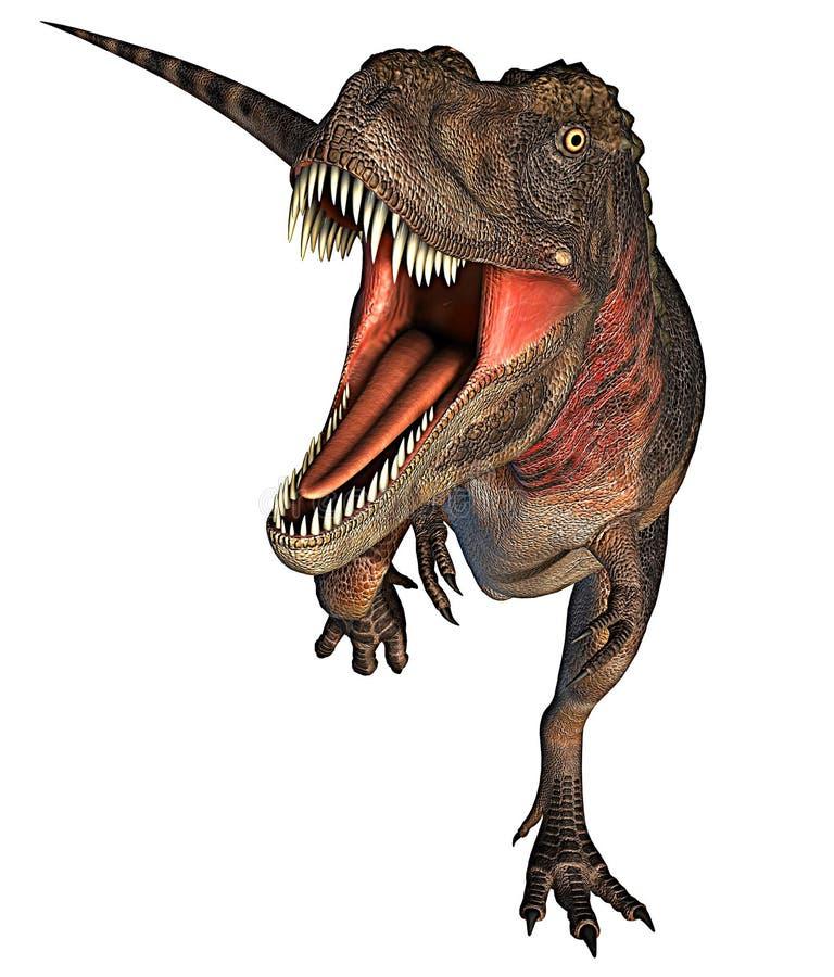 Rdoing do rex do dinossauro de Dino grande ilustração royalty free