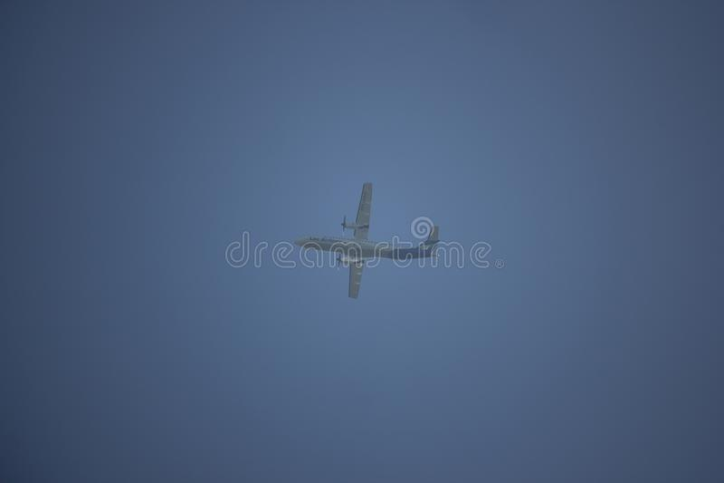 RDPL-34225 ATR72-600 de Lao Airline fotografia de stock royalty free