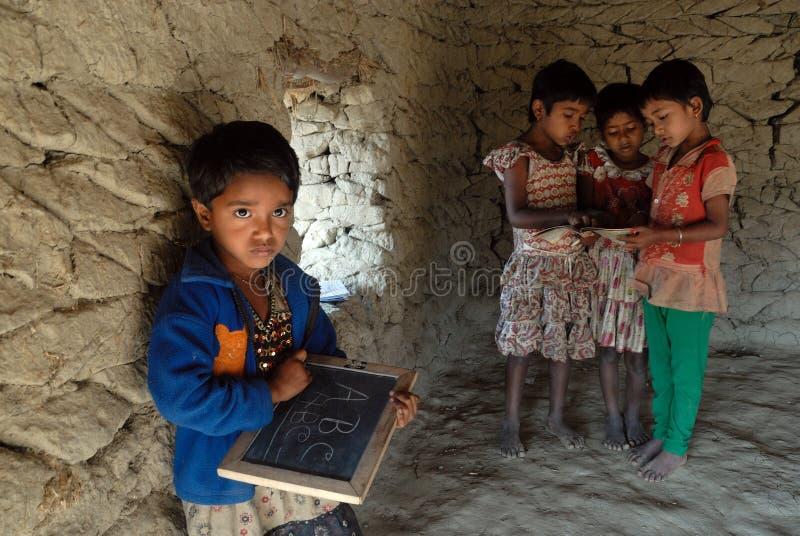 Rducation rural photo libre de droits