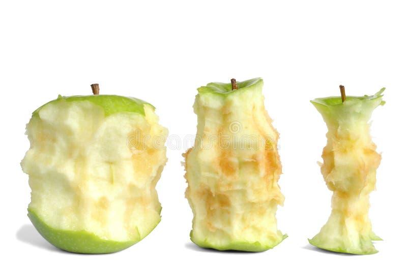 rdzenie jabłko zdjęcia royalty free