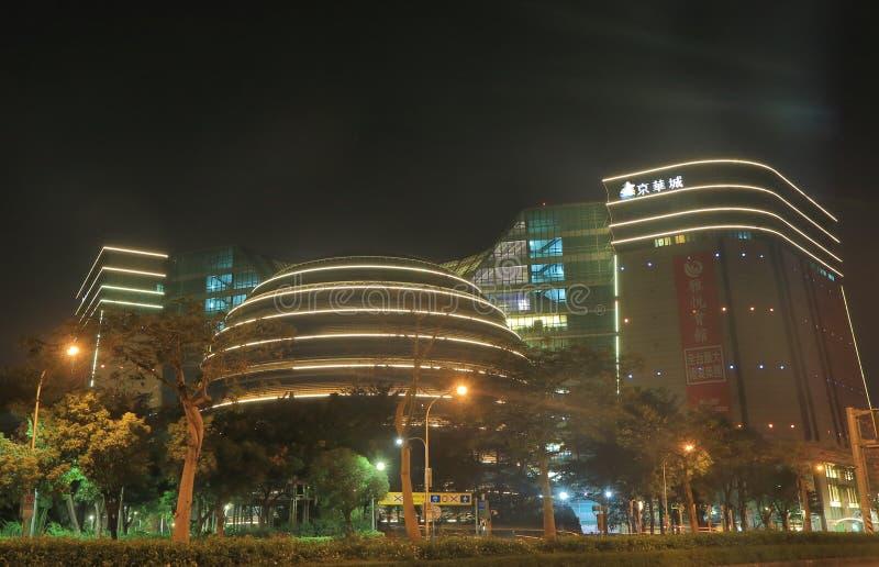 Rdzeniuje Pacyficznego miasta Żywego centrum handlowe robi zakupy Taipei Tajwan zdjęcia stock