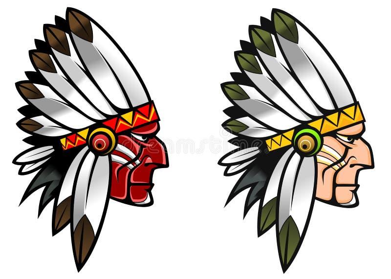 rdzenni narody ilustracja wektor