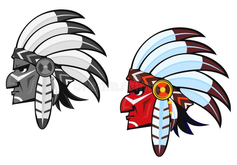 rdzenni narody royalty ilustracja