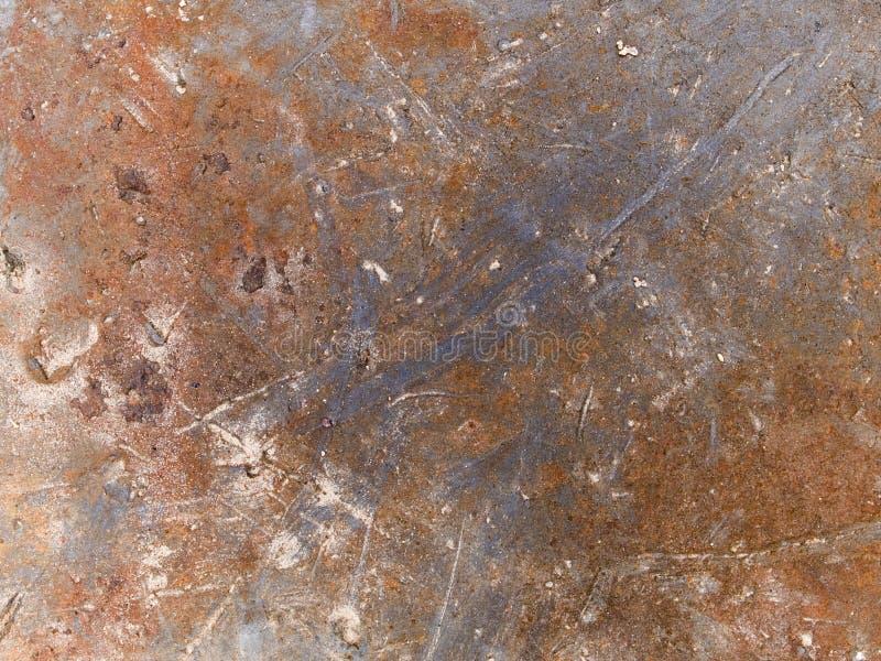 Rdzewiejąca makro- tekstura - metal - fotografia royalty free