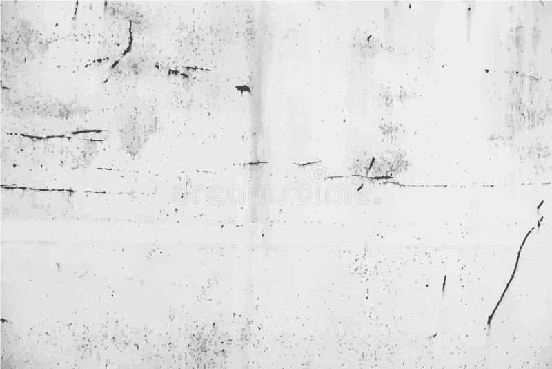 Rdzewiejący metalu tło z narysami ilustracji