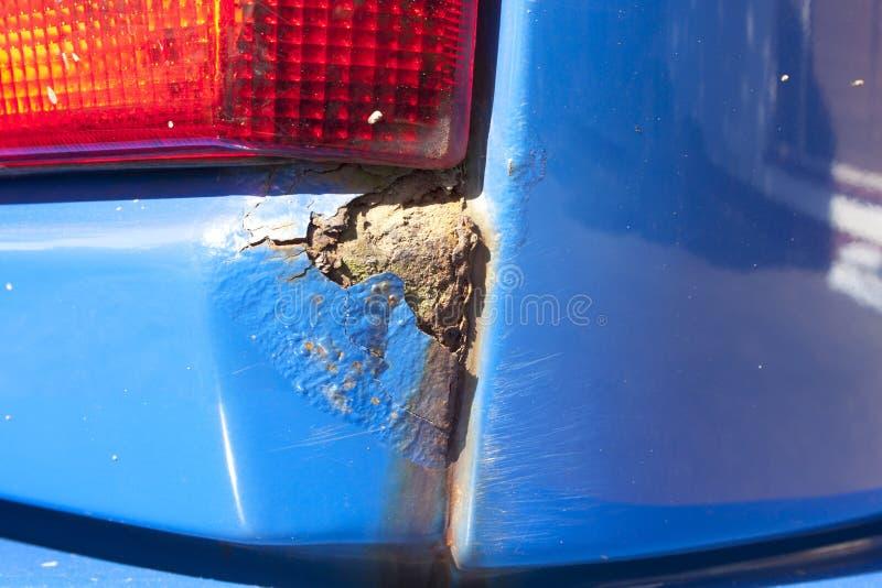 Rdzewiejący pojazdu ogonu światło zdjęcie royalty free