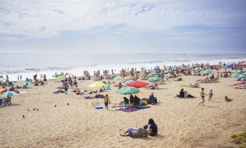Reñaca Beach Chile. Reñaca Beach, Quinta Region, Chile. December 31, 2017. Popular summer resort on the central coast of Chile stock image