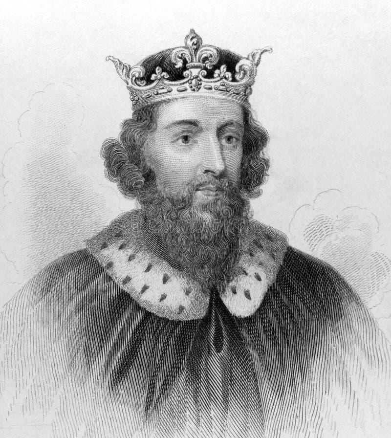 Re Alfred il grande fotografie stock libere da diritti