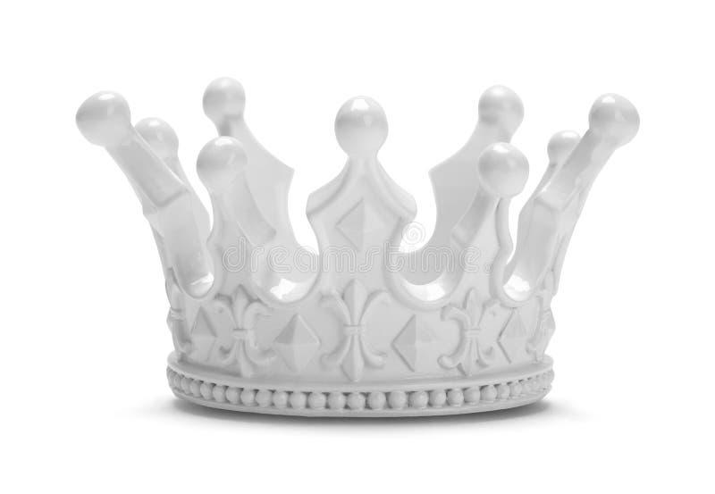 Re bianchi Crown immagine stock libera da diritti