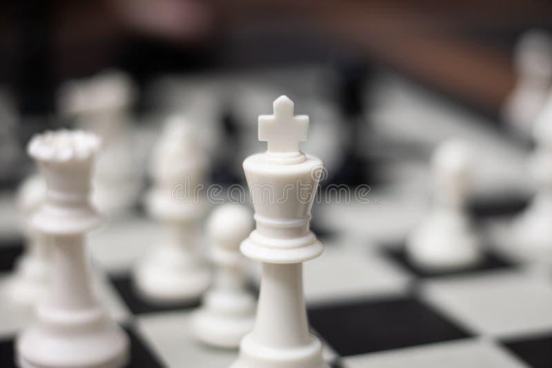 Re Chess Game Piece fotografie stock libere da diritti