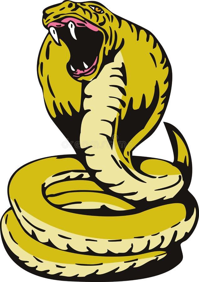 Re Cobra royalty illustrazione gratis