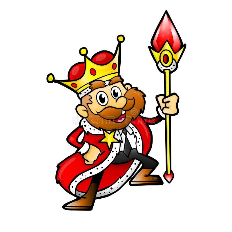 Re dell'affare illustrazione vettoriale