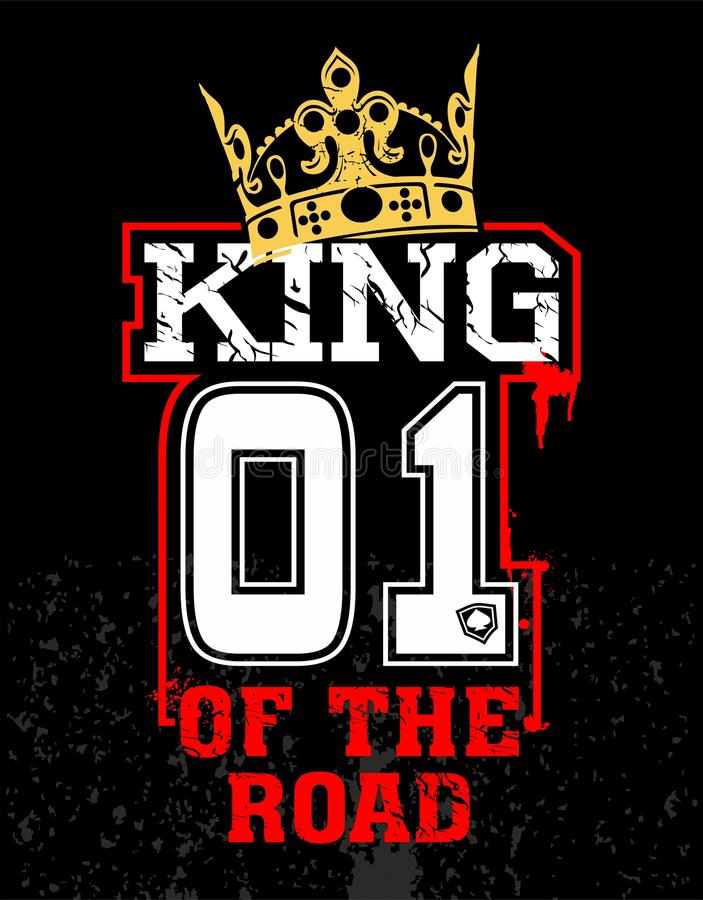 Re della strada royalty illustrazione gratis